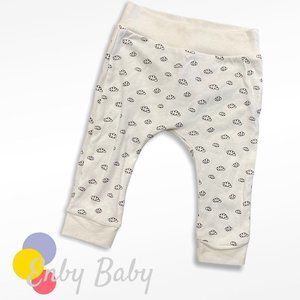 Rae Dunn Baby Cotton Jersey Pants - 6-9m